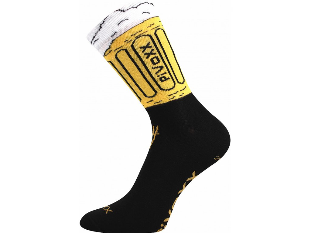 Ponožky PiVoXX Černá