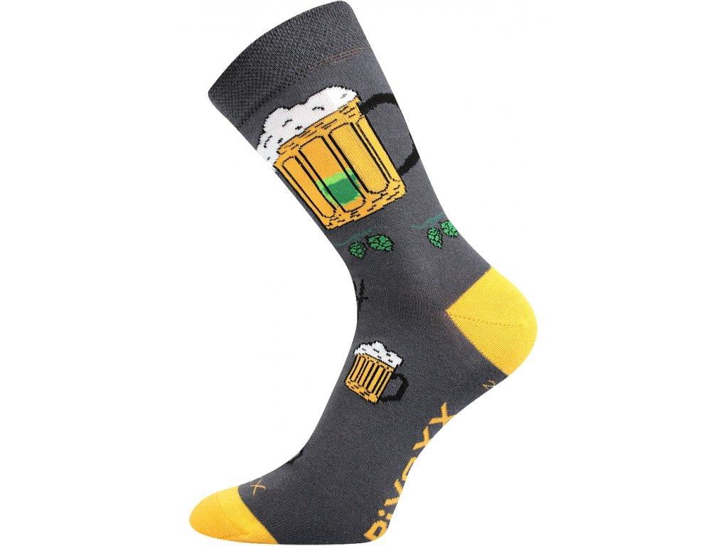 Ponožky PiVoXX Šedá
