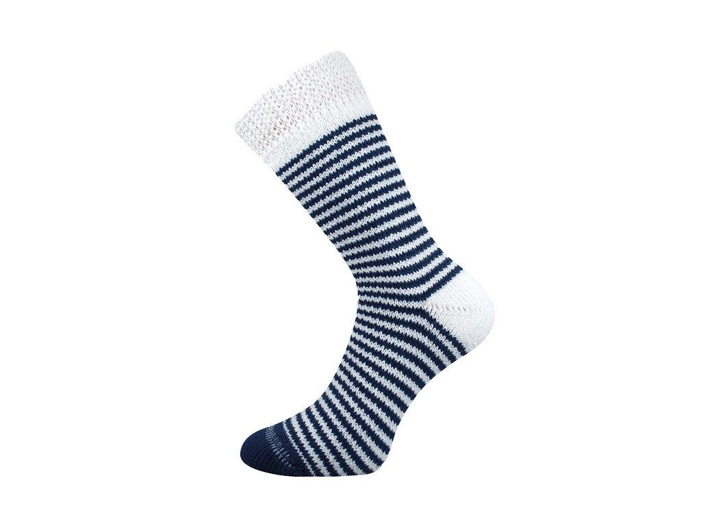 Spací ponožky Bílá/modrá