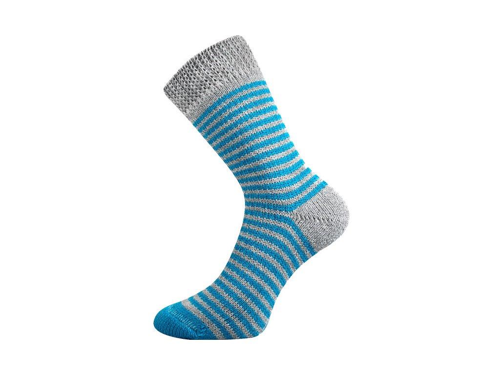 Spací ponožky Modrá/šedá
