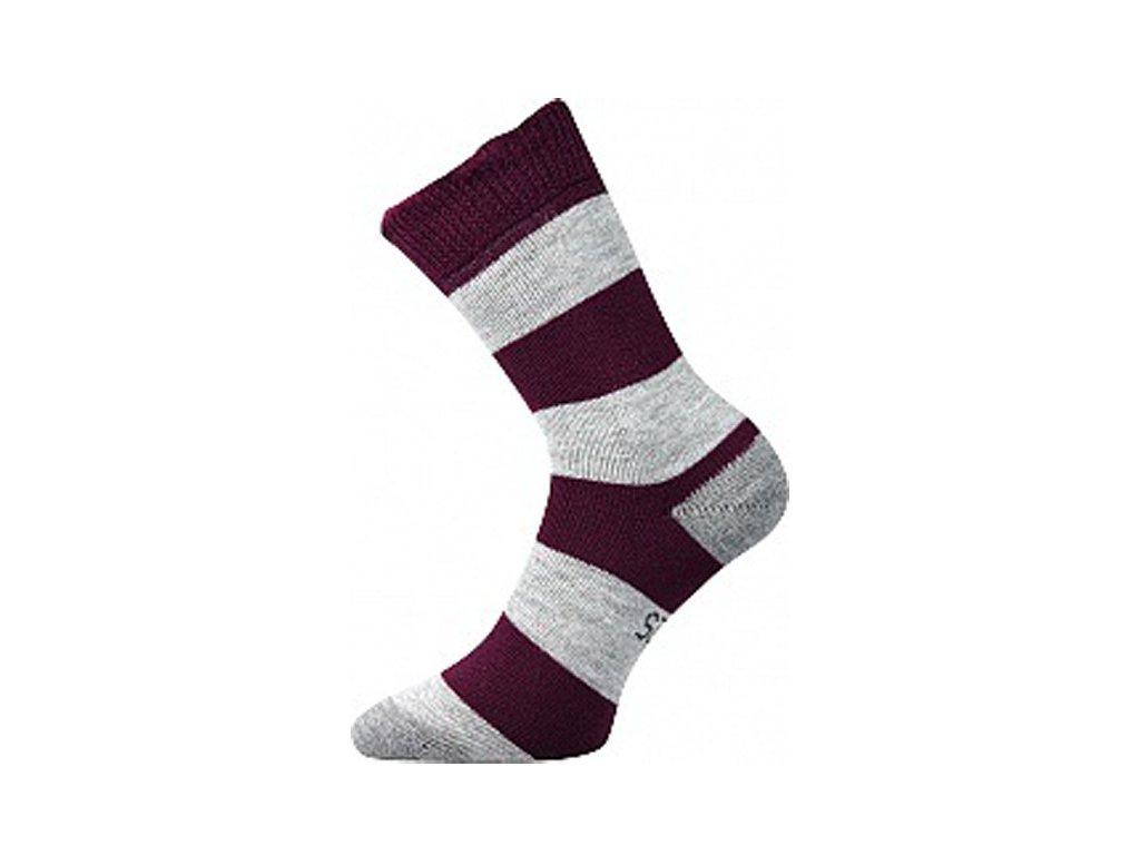 Ponožky Velveta Borůvková