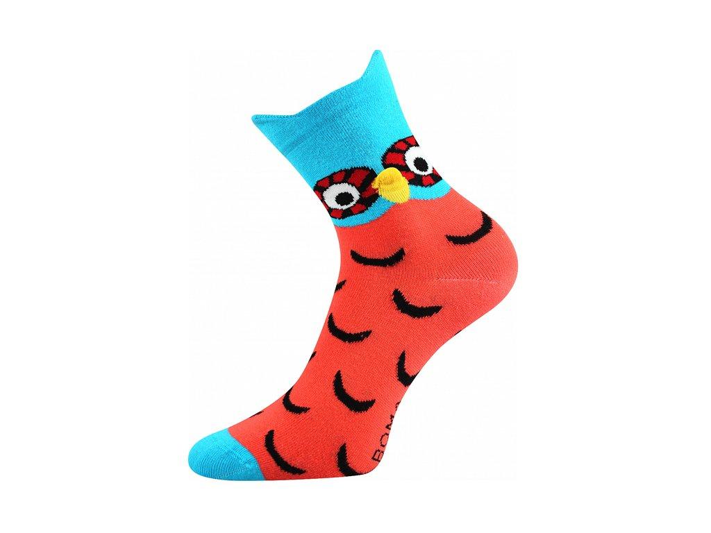 Ponožky Xantipa 3D Oranžová