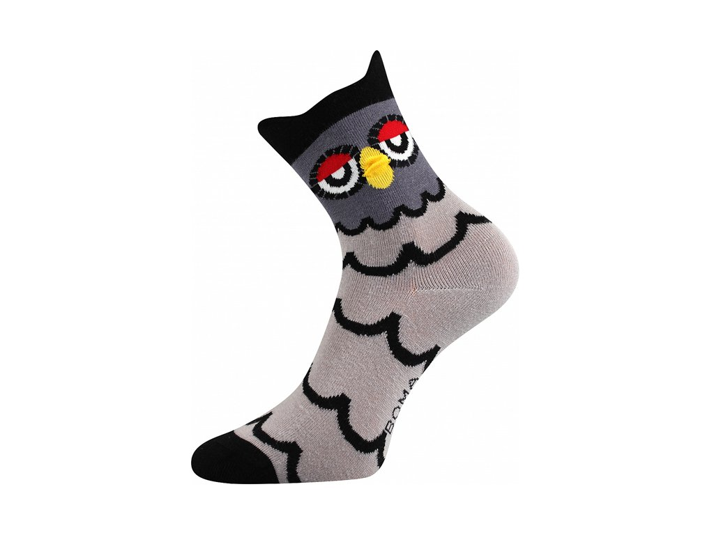 Ponožky Xantipa 3D Tmavá