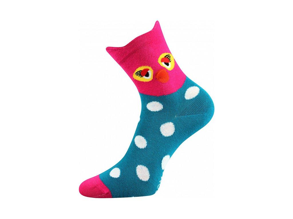 Ponožky Xantipa 3D Tyrkys