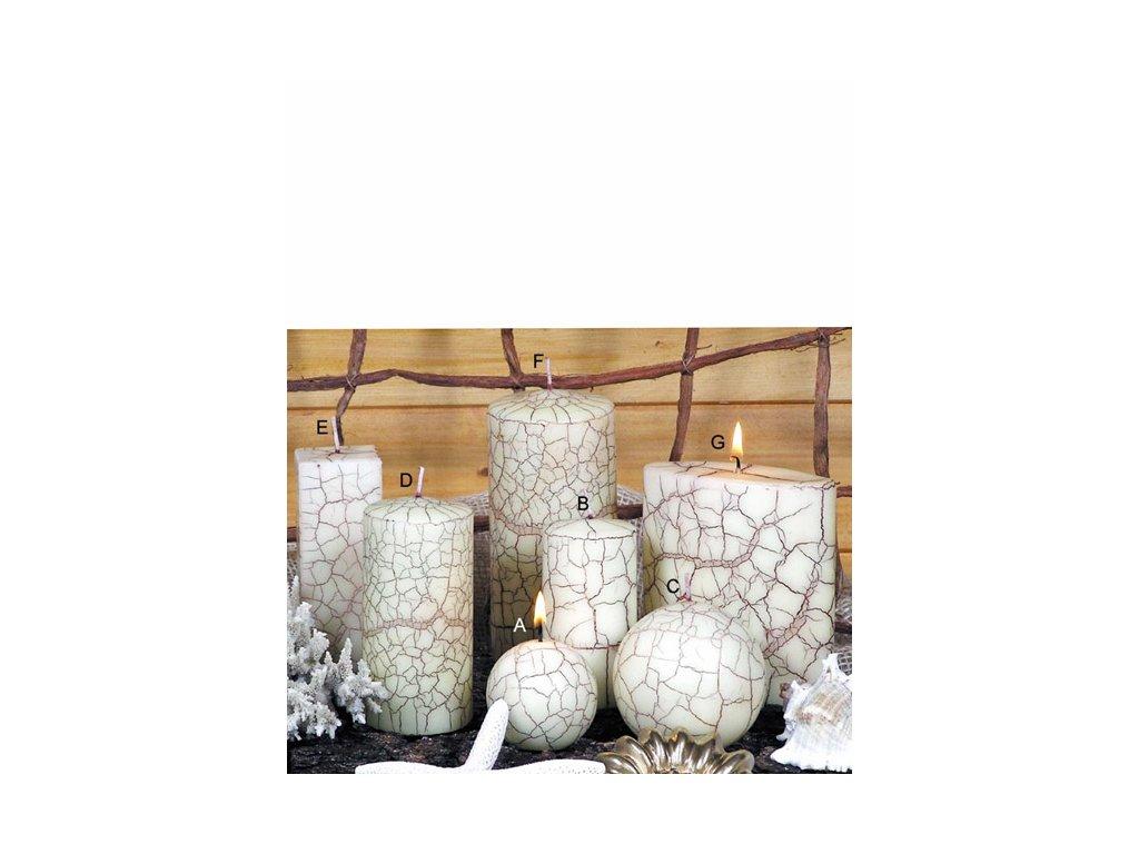 Svíčka Nevada slonová kost