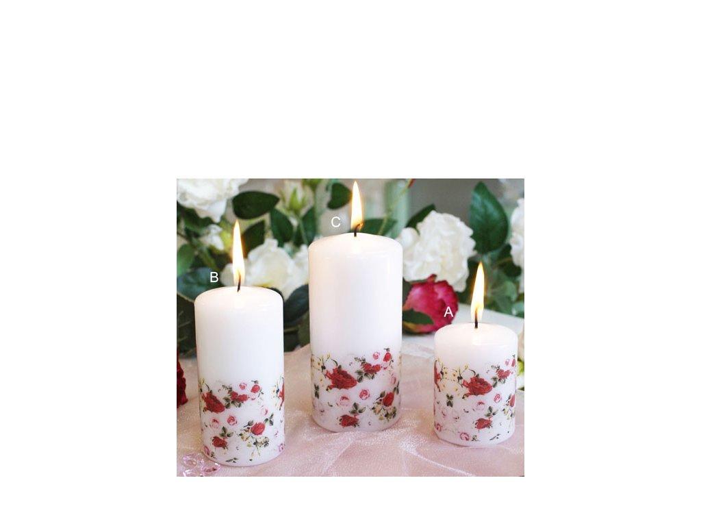 Svíčka Růže 1