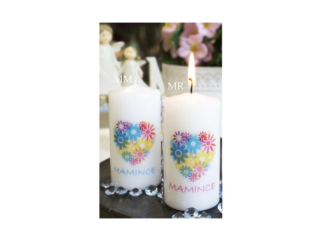 Svíčka S věnováním Mamince