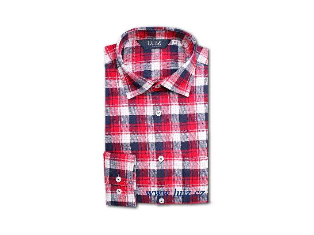 Flanelová košile Bruno prodloužený 142