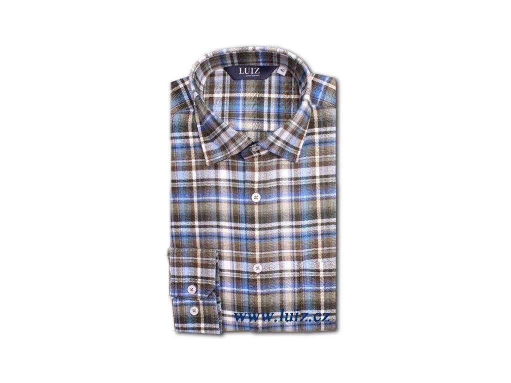 Flanelová košile Bruno prodloužený 145