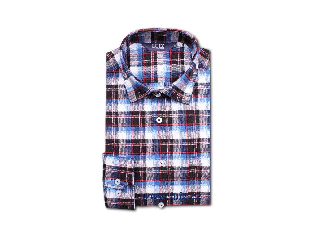 Flanelová košile Bruno prodloužený 148