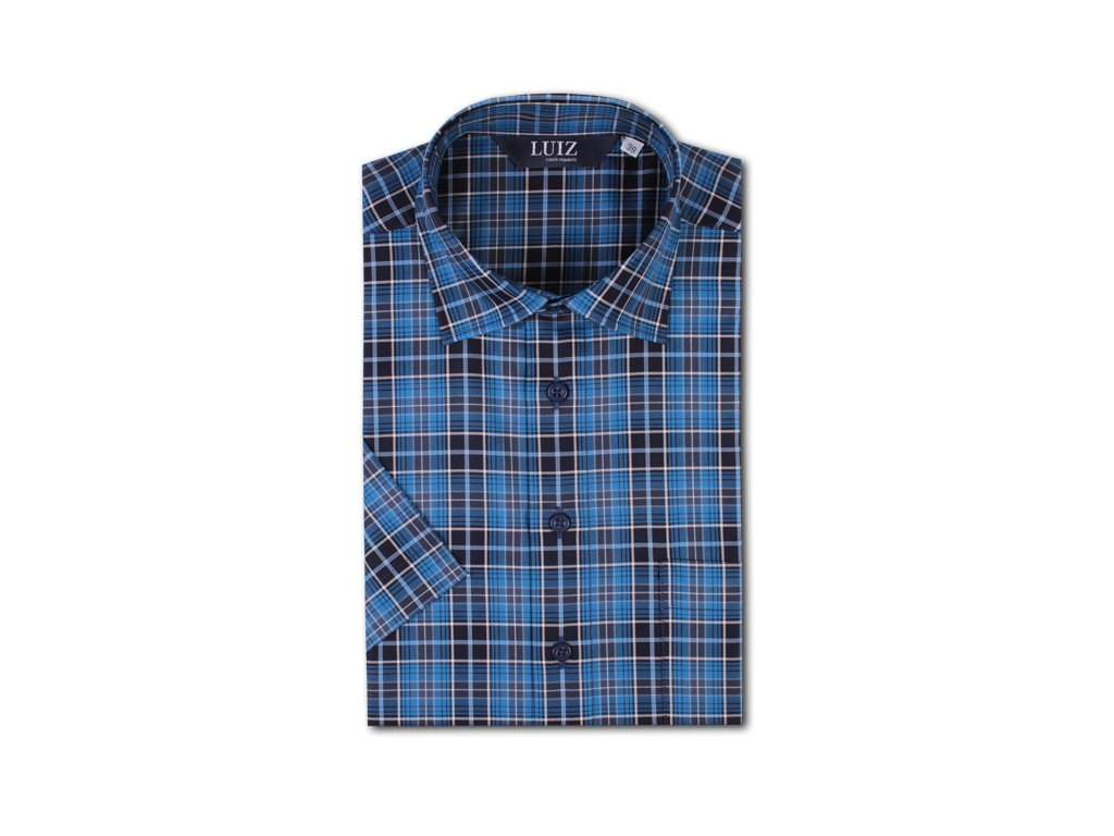 Bavlněná košile Bruno POP-krátký 204