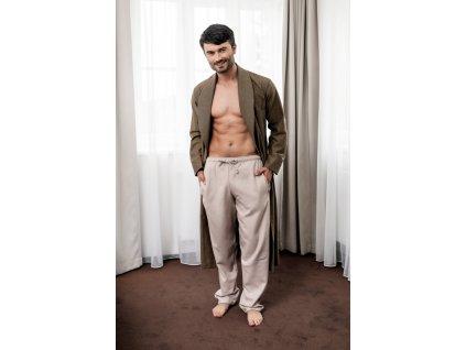 Pánské domácí kalhoty flanel HK63