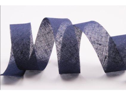 lemovka šikmý proužek tmavě modráa