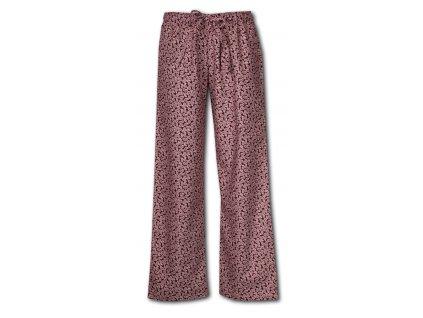 damske domaci kalhoty flanel 68l