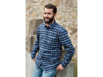 Flanelová košile Nikolas 102