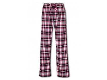 damske domaci kalhoty flanel prodloužené 1011
