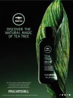 Řada Tea Tree pro všechny typy vlasů