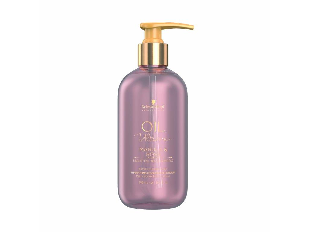 Oil Ultime light oil in shampoo 300ml HR