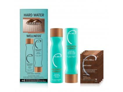 Malibu C Hard Water Welness® Collection - sada péče na vlasy proti tvrdé vodě