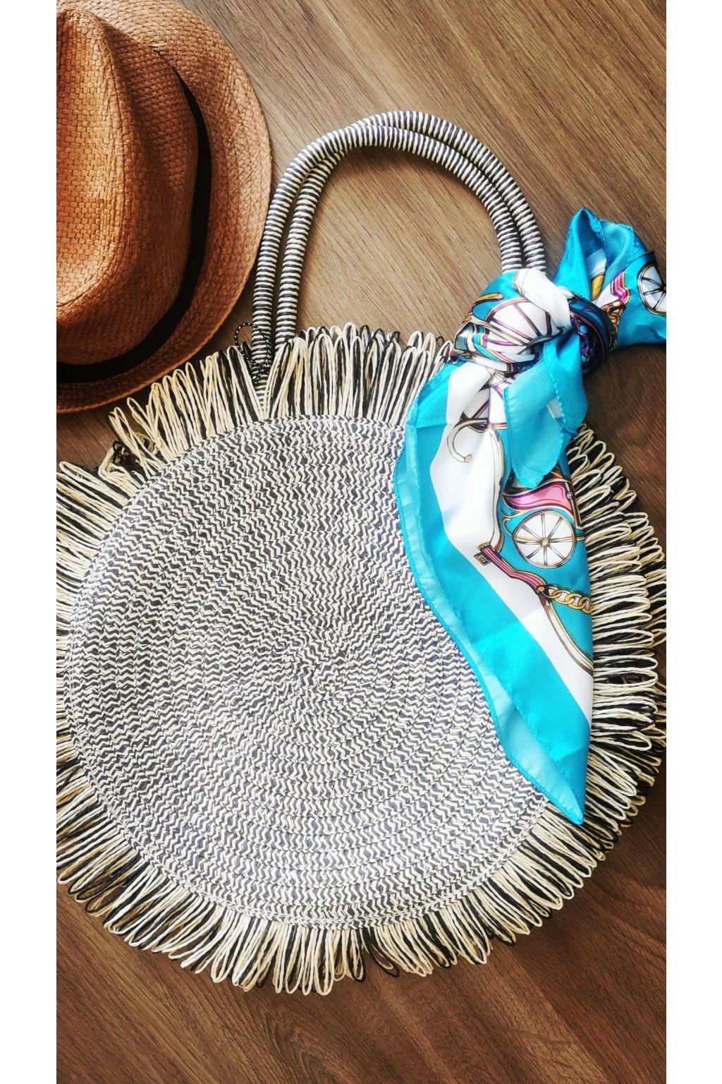 Dámska slamená kabelka Vivi