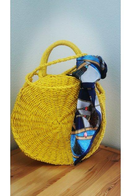 Dámska žltá kabelka Niki