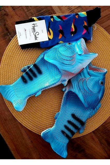 Ryba šlapky Modré