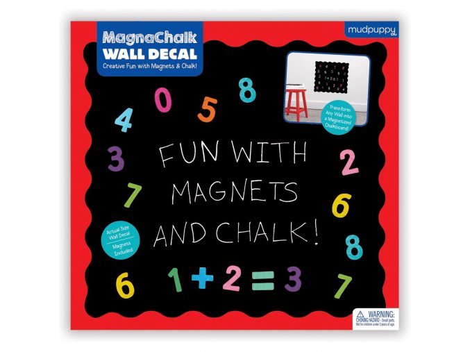 fun with 123s magnachalk wall decal sale 9780735349124 mudpuppy 435