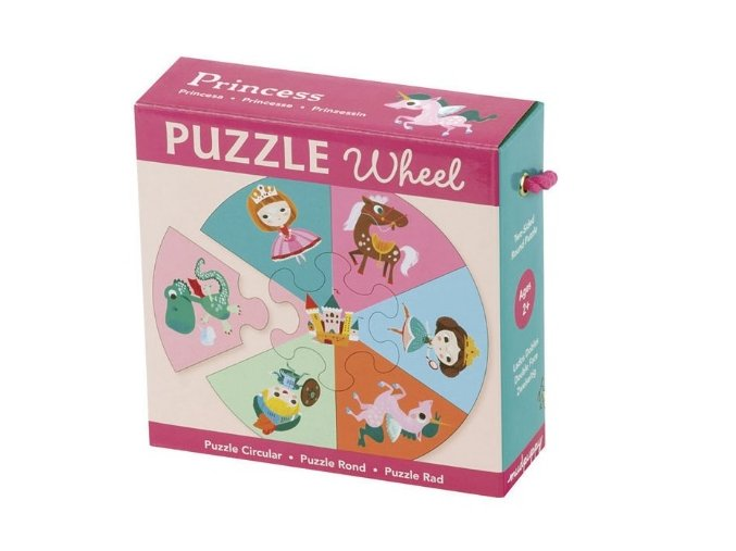 puzzle Wheel princess