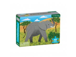 MP MiniPuzzle AfricanElephant CVR 9780735357136
