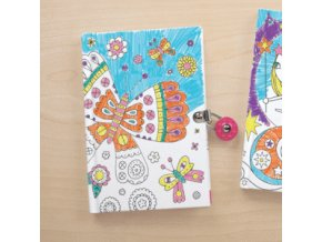 butterfly color in locked diary sale mudpuppy 975308 300x