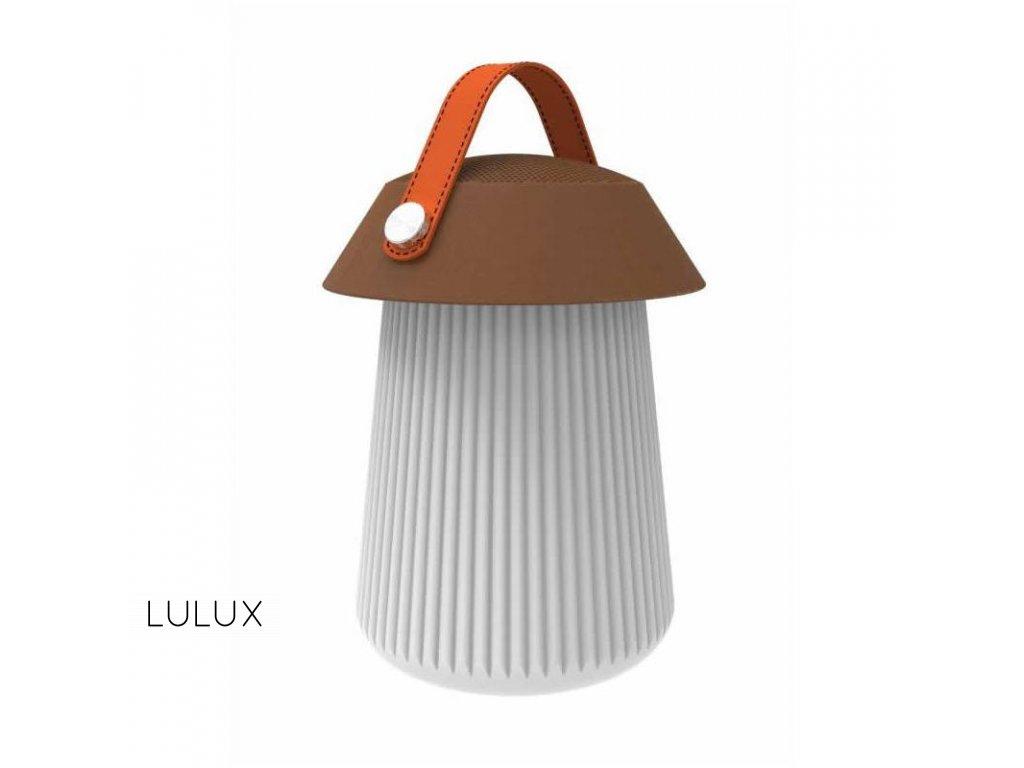 funghi stolna lampa s reproduktorom