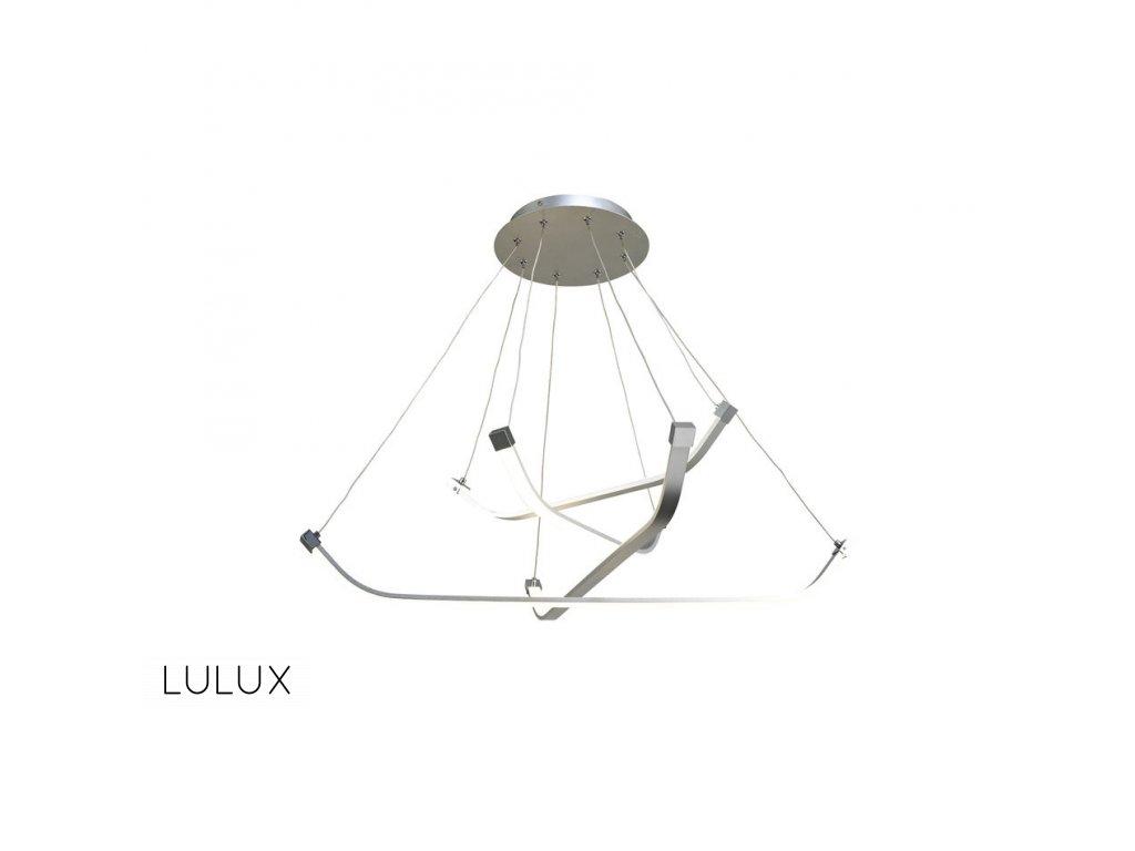 PAPUA luxusné dizajnové visiace led svietidlo 80cm