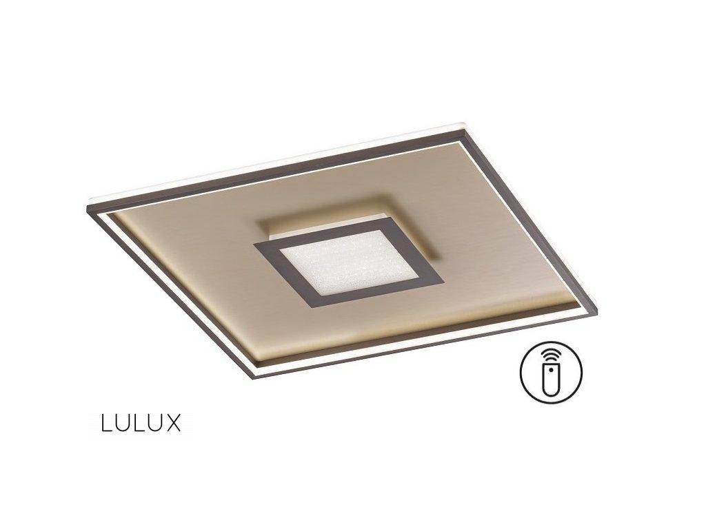 BUG SQ8 | Štvorcové prisadené led svietidlo (Farba Zlatá)