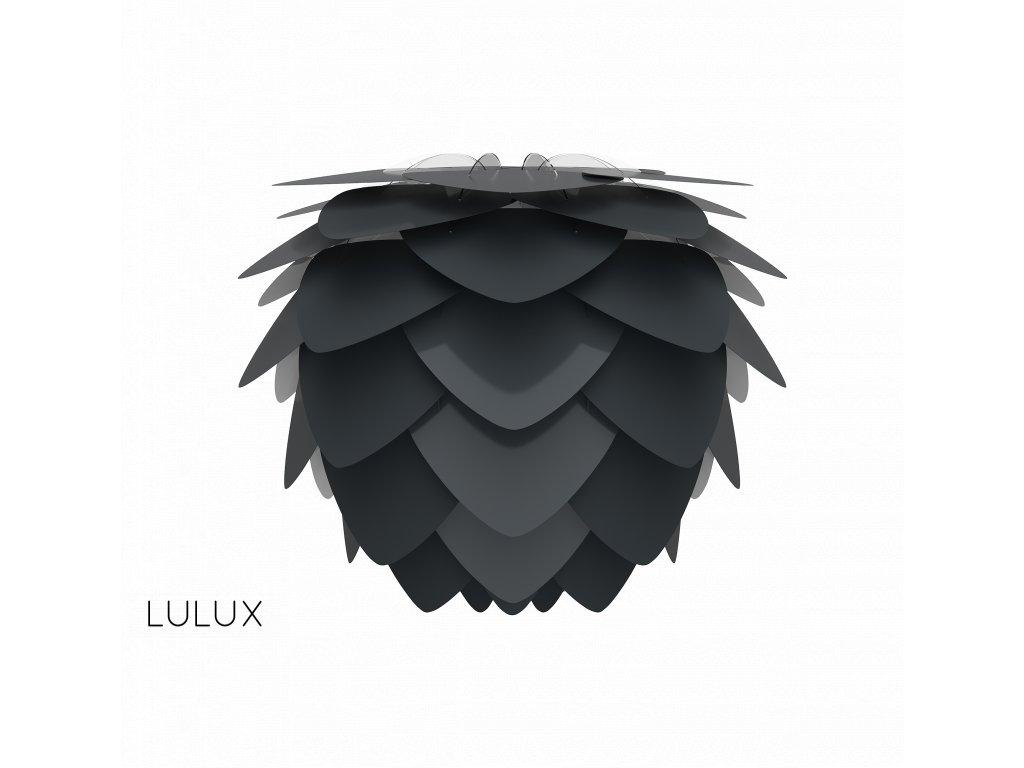 Dizajnové tienidlo Vita Aluvia mini čierna