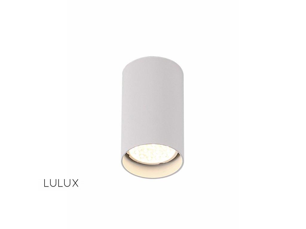 Maxlight Pet round - biela - minimalistická bodovka