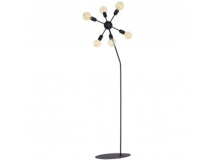 Aldex | 857A | EKO | stojaca čierna industriálna lampa