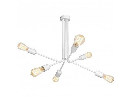 Biele industriálné nástenné dizajnové svietidlo