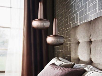 Vita Clava Elegantné dizajnové svietidlo medené