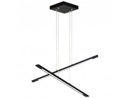Aldex | 937H50 | MODERNO II | dizajnový čierny led luster