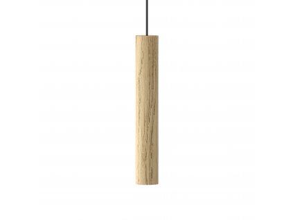 CHIMES | drevené dizajnové svietidlo (Farba Čierna)