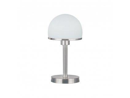 Trio Joost - pekná retro sklenená stolná lampa
