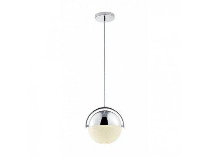 Trio Chris - luxusné moderné dizajnové chrómové led závesné svetlo