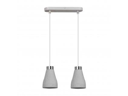KREPS 2 GRAY | moderná visiaca lampa