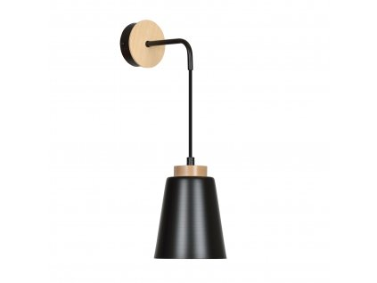 BOLERO K1 BLACK | pekné moderné nástenné svietidlo