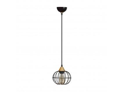 LATARNIA 1 BLACK | industriálna retro visiaca lampa