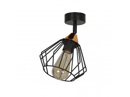 VESTA 1A | čierna moderná stropná lampa
