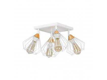 VESTA 4B | biele industriálne stropné svietidlo