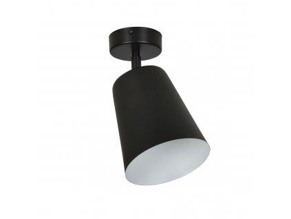 PRISM 1 | moderná stropná lampa-čierna biela