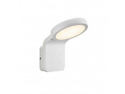 NORDLUX MARINA FLATLINE vonkajšie nástenné svietidlo so súmrakovým senzorom biele
