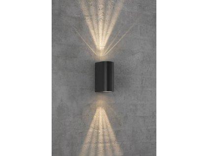 ASBOL dizajnová vonkajšia nástenná lampa (1)